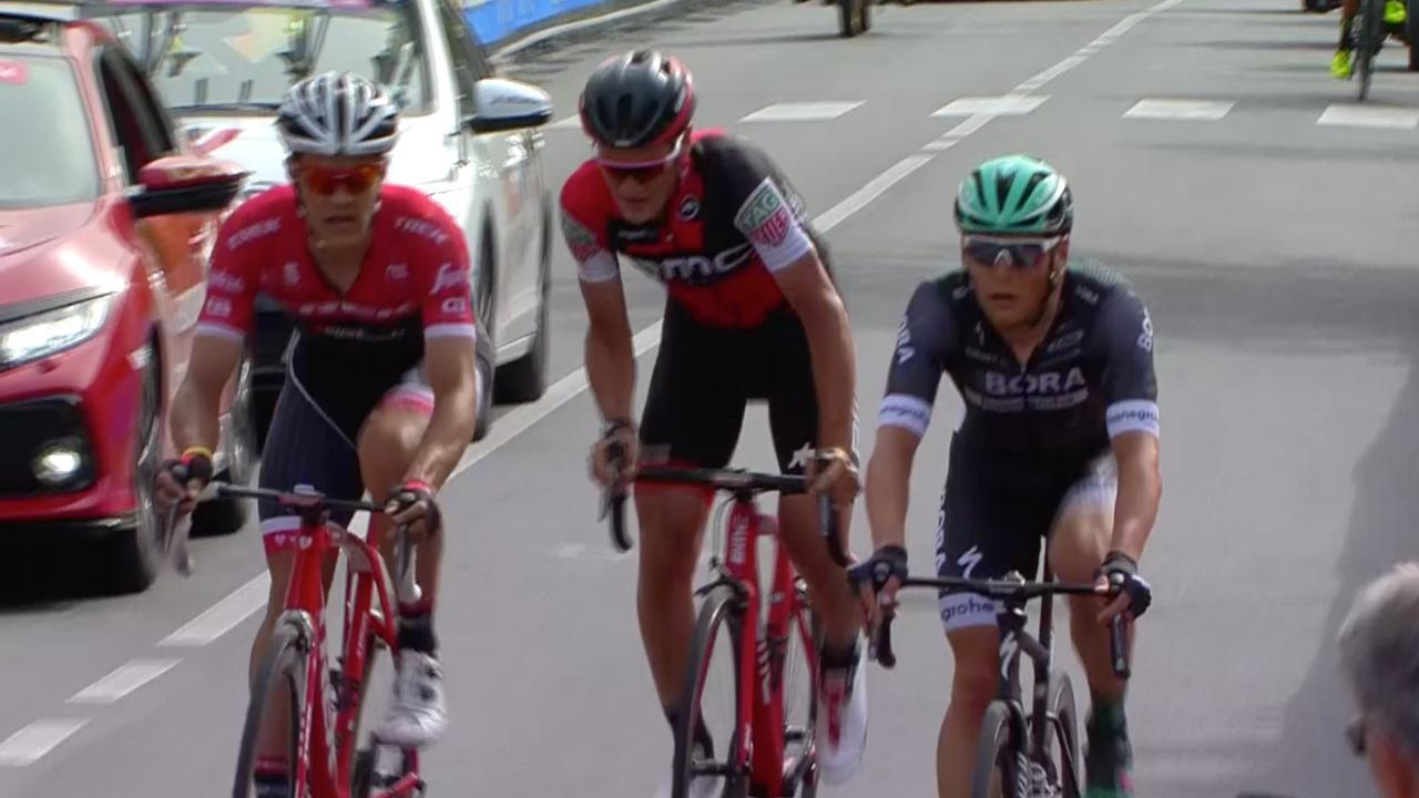 Samenvatting: Dillier sterkste van kopgroep in zesde etappe Giro