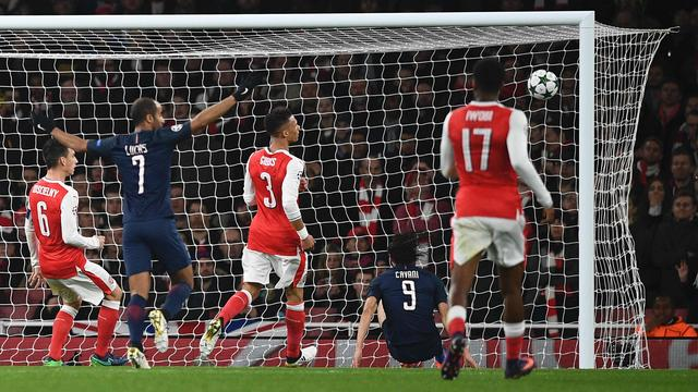 Samenvatting Arsenal-Paris Saint-Germain (2-2)