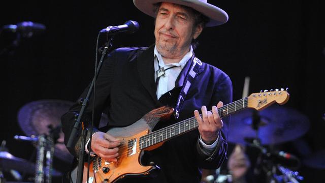Bob Dylan niet aanwezig bij ceremonie Nobelprijs