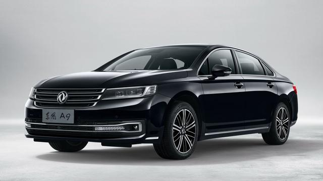 Dongfeng toont Aeolus A9 in China
