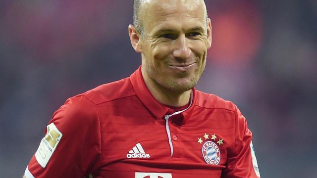 Robben in basis bij Bayern München tegen Eintracht Frankfurt