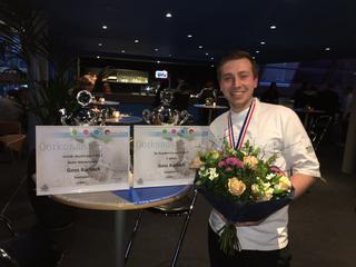 Stagiair wint twee prijzen