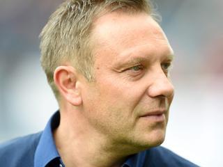André Breitenreiter zit zaterdag tegen Hoffenheim voor het laatst op de bank