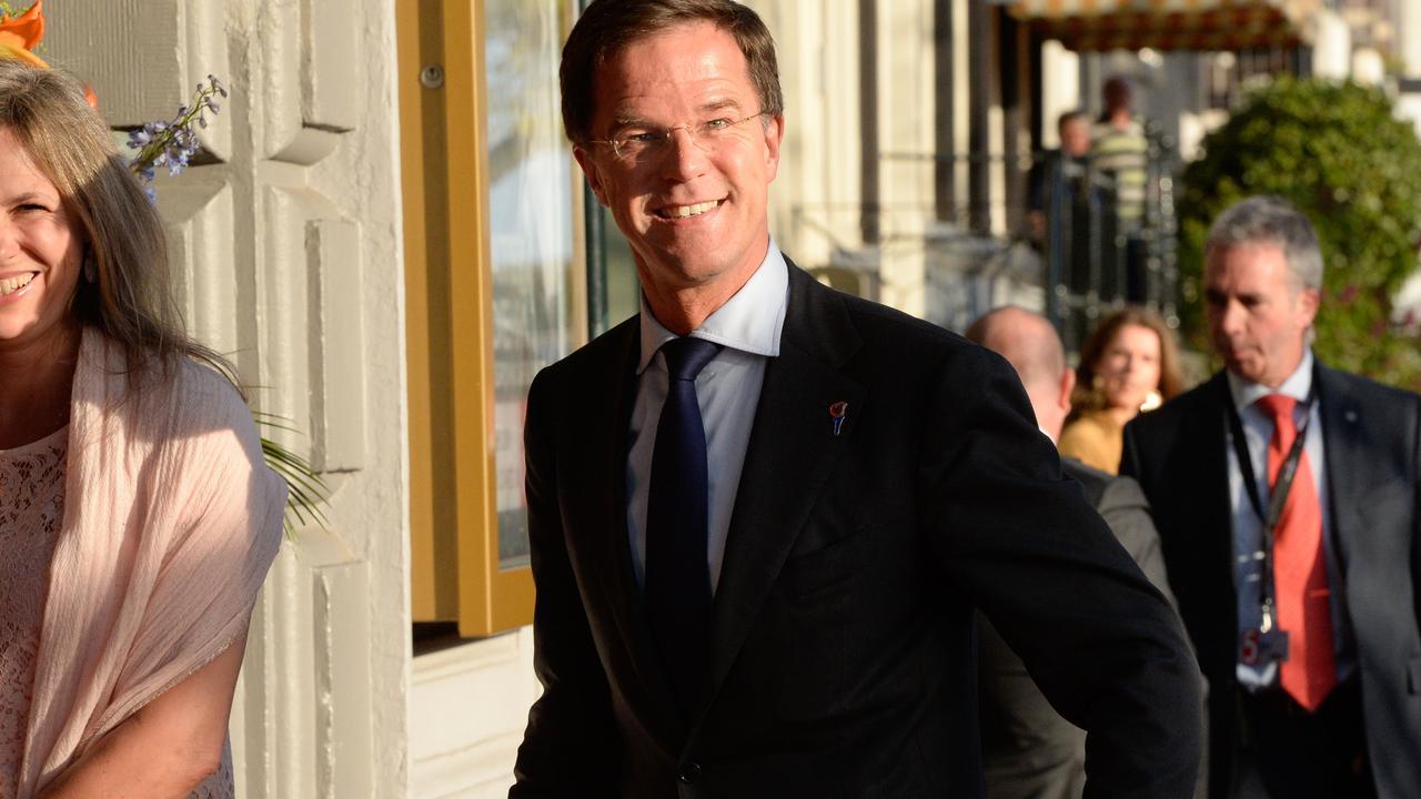 Mark Rutte feest mee met de Toppers