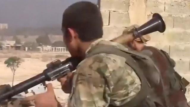 Leider islamitische Nusra Front-militie gedood in Aleppo