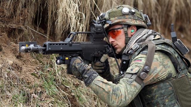 Berlijn wil EU-militairen in Duitse leger toelaten