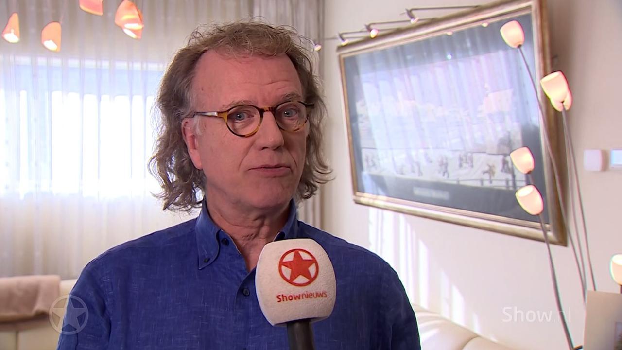 André Rieu repeteerde met orkest in het begin in 'ijskoude ruimtes'