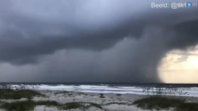 Orkaan Matthew bereikt Florida