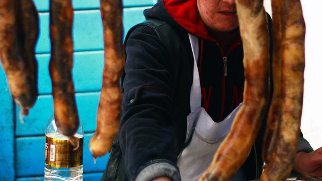 Brit aangeklaagd voor belediging Kirgizische paardenworst