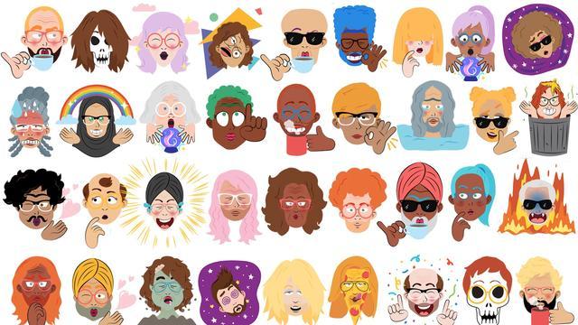 Google Allo maakt persoonlijke stickers van selfies