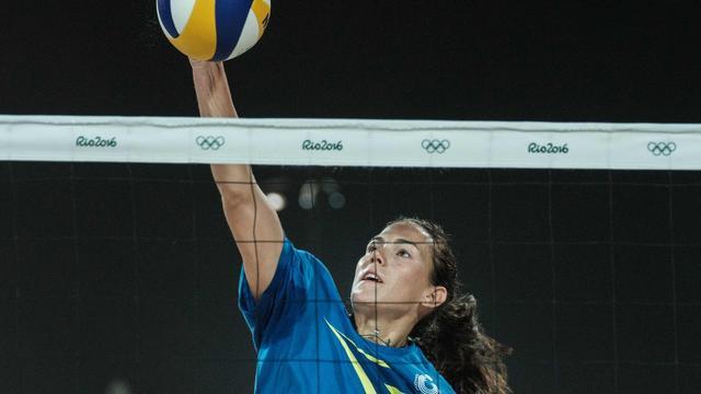 Italiaanse beachvolleybalster test positief in aanloop naar Rio