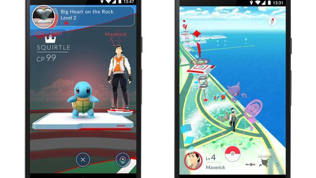 Nintendo had goede beursdag dankzij nieuwe Pokémon-app