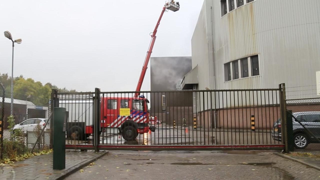 Brand bij brouwerij Bavaria in Brabantse plaats Lieshout
