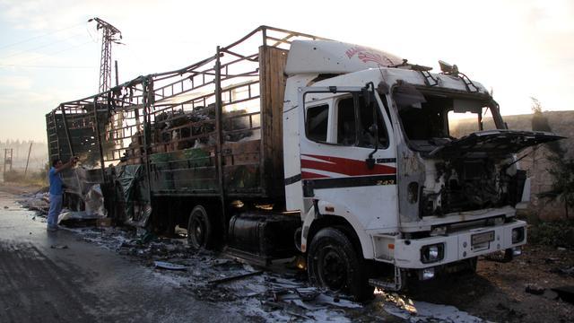 VN onderzoekt dodelijke aanval op hulpkonvooi Syrië