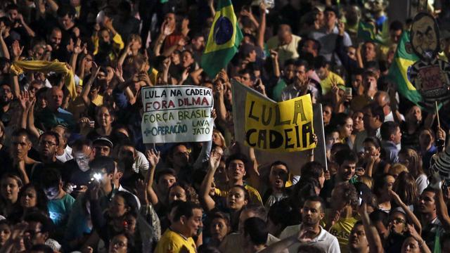 Demonstraties in Brazilië tegen nieuwe aanstelling oud-president
