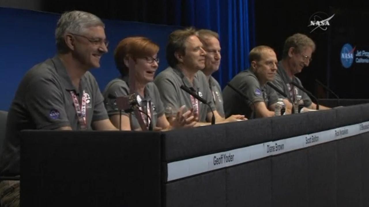 Team NASA over Juno bij Jupiter: 'Het is gewoon verbazingwekkend'
