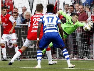 Eredivisieclubs winnen met 1-0 van MVV en Almere City