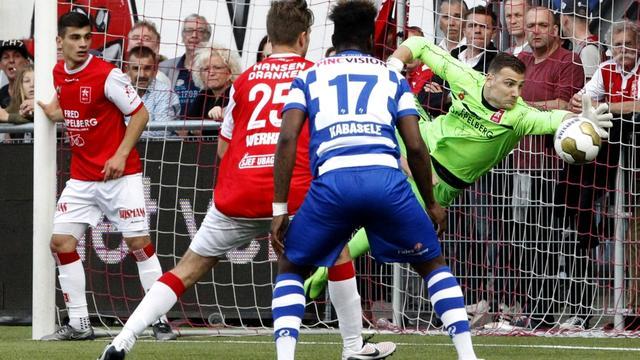 De Graafschap en Willem II doen goede zaken in nacompetitie