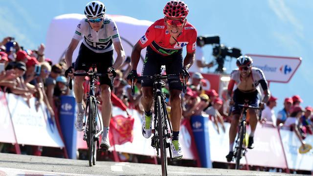 Quintana baalt dat hij Froome niet kon lossen op Col d'Aubisque