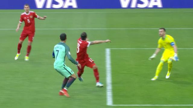 Ronaldo scoort tegen Rusland bij Confederations Cup
