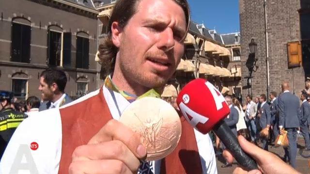 Amsterdamse roeier met brons naar de premier: 'Trots? Ja tuurlijk!'