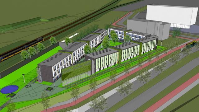 Drie jaar na lancering plan komt bouw Study Studio Park in zicht