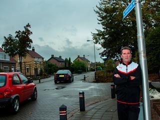 Bewoner Jack Valentijn strijdt tegen hoge verkeersdruk