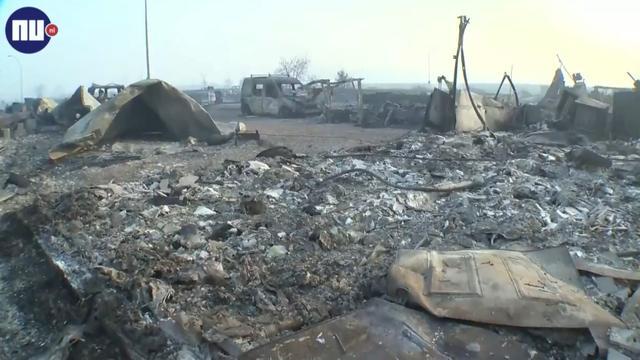 Hevige bosbranden Canada richten ravage aan