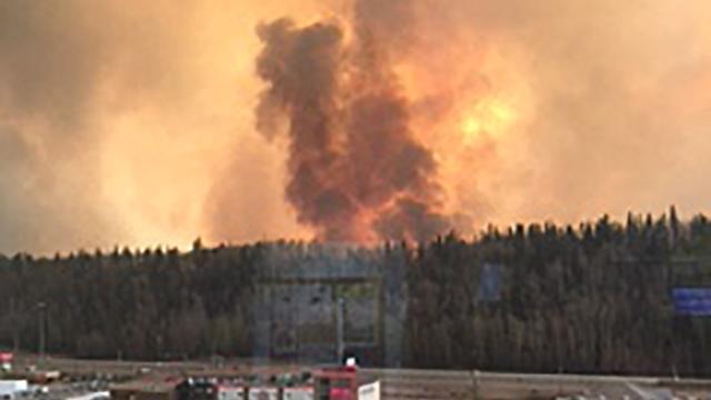 Bosbranden Canada vertienvoudigd