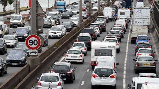 Vakantiedrukte zorgt voor piek van 500 kilometer file in Frankrijk