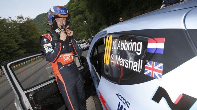 Rallyrijder Abbring maakt WK-rentree met Hyundai