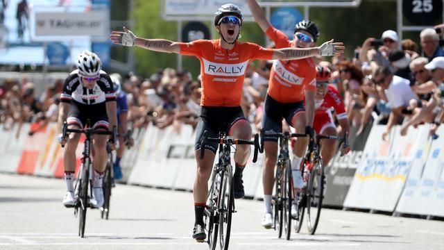Huffman wint vierde rit Ronde van Californië, Hofstede wordt derde
