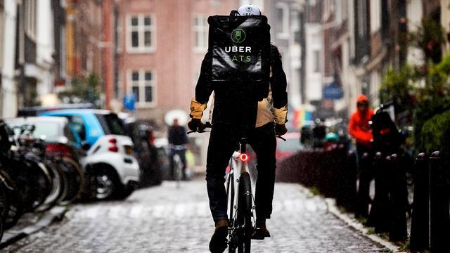 Maaltijdbezorging van Uber gestart in Utrecht
