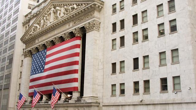 Vlakke standen bij opening Wall Street