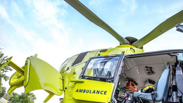 Automobilist ernstig gewond bij ongeval in Halsteren