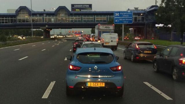 Twee nachten verkeersstops bij Schipholtunnel