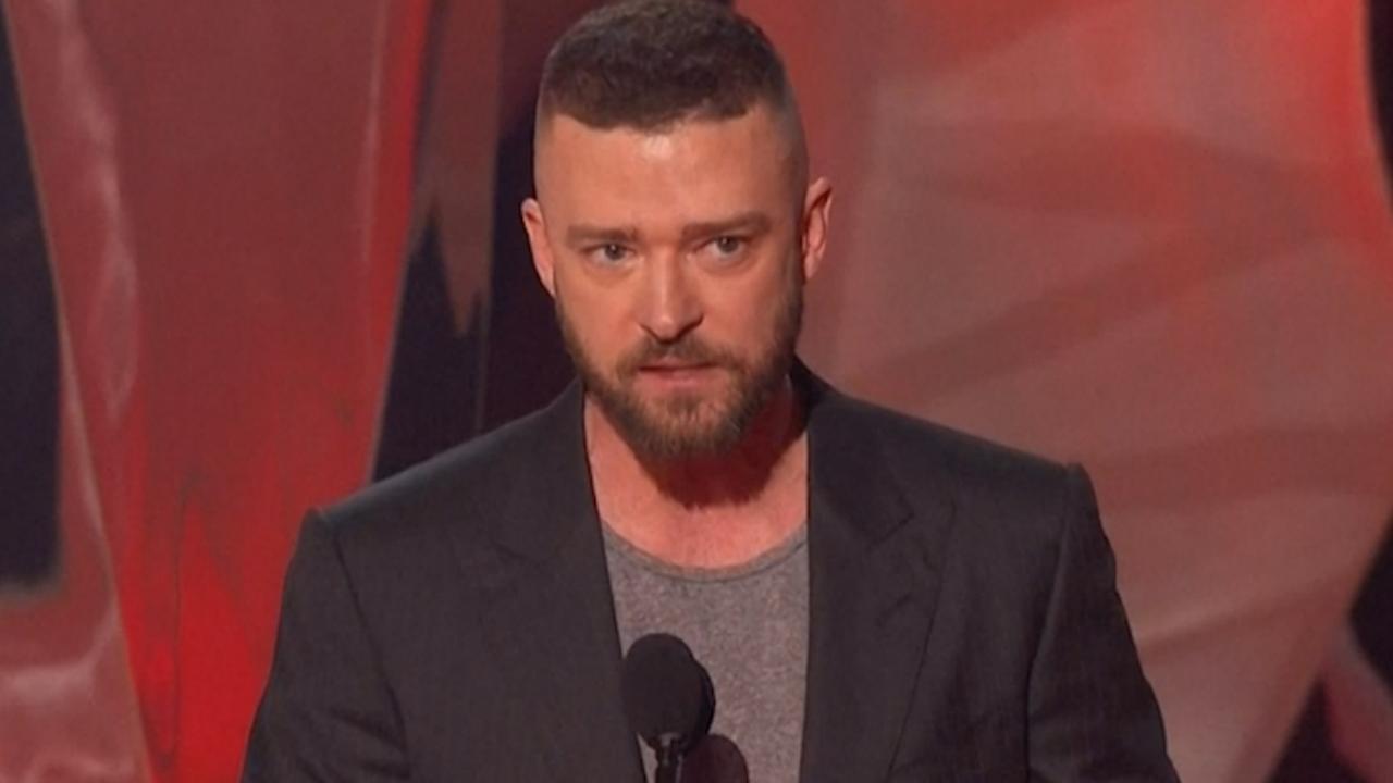 Justin Timberlake richt zich tot LHBTI-jongeren tijdens dankwoord