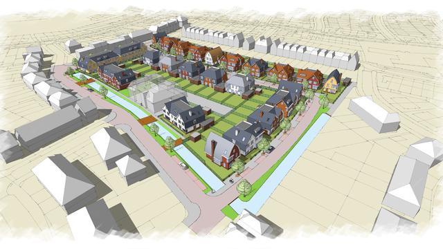 Veel belangstelling voor nieuwbouwplannen ASC locatie Oegstgeest