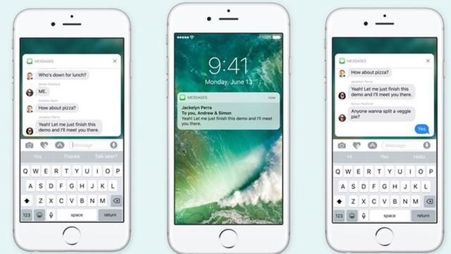 Apple brengt uitgebreide notificaties iOS 10 ook naar oudere toestellen