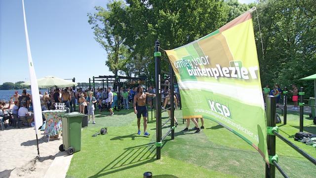 Vernieuwde Urban Athletes Park in Alphen aan den Rijn geopend