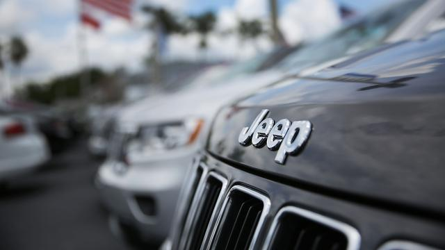 Fiat Chrysler profiteert van grotere vraag naar Jeeps