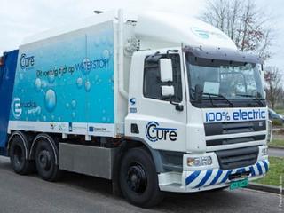 Gemeente heeft ook een veegwagen en twee personenauto's op waterstof