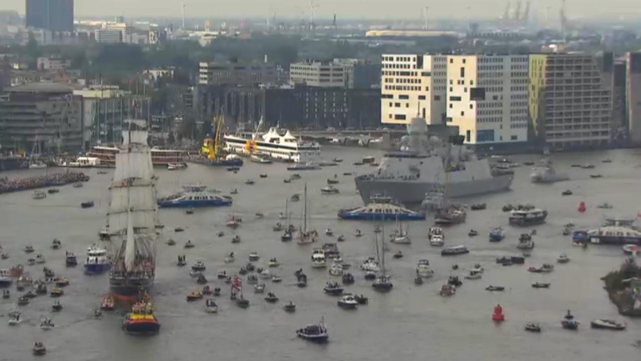 Sail Amsterdam is populairste evenement in Nederland