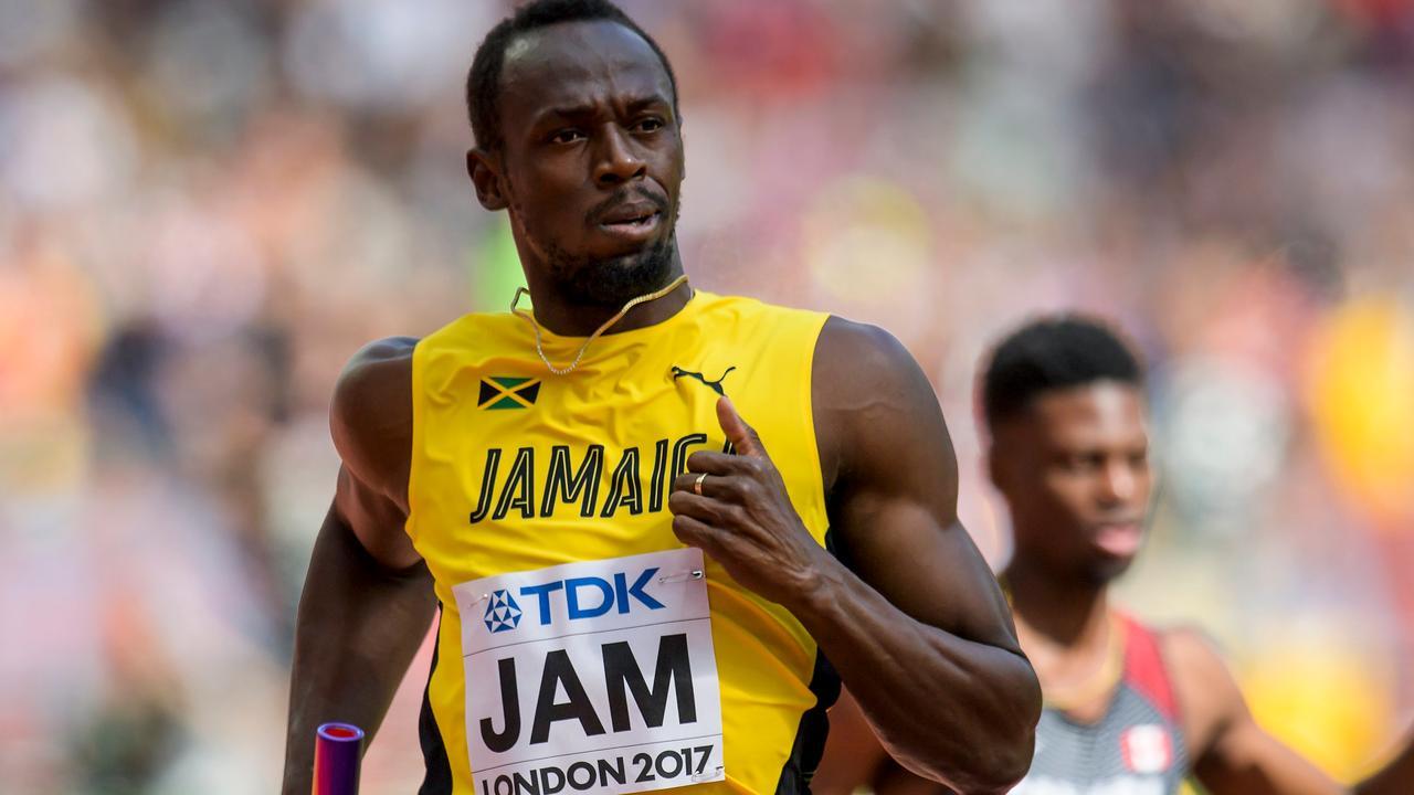 Usain Bolt blesseert zich tijdens laatste race in WK-finale 4x100 meter