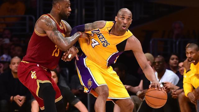 James verslaat Bryant in laatste onderlinge NBA-duel
