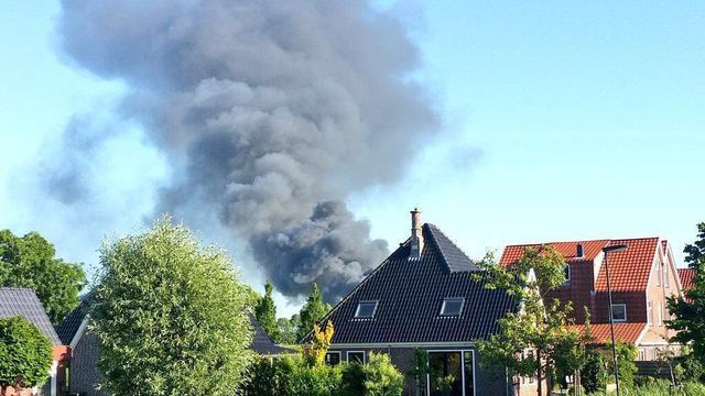 Zwaargewonde door brand op bedrijventerrein Alkmaar