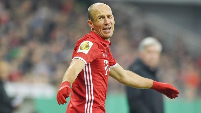'Robben heeft pech dat hij in het tijdperk van Ronaldo en Messi speelt'