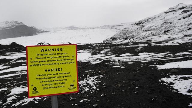 IJsland houdt vulkaan met drones in de gaten