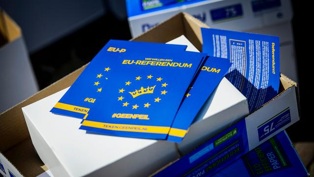 Oekraïne-referendum kort besproken op Europese top