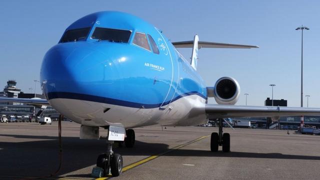 Laatste Fokker-toestel KLM verdwijnt volgend jaar uit vloot